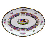 antique spode R4595 pheasant  dish