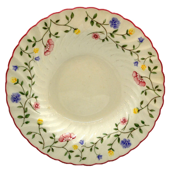 Johnson Brothers Summer Chintz China Rimmed Soup Bowls