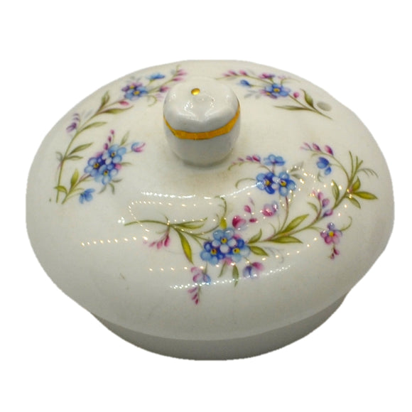 Duchess tranquillity china tea pot lid
