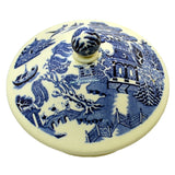 Wedgwood Blue and White Willow china teapot lid
