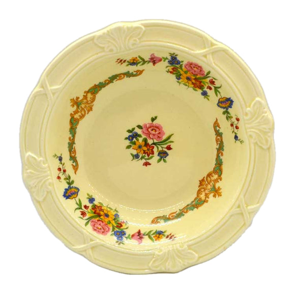 Grindley The Compton Molded English Dessert Bowls 1936-1954 Floral China