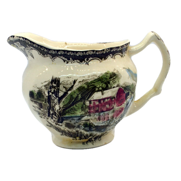The Old Mill Milk jug by Johnson Bros the friendly village china