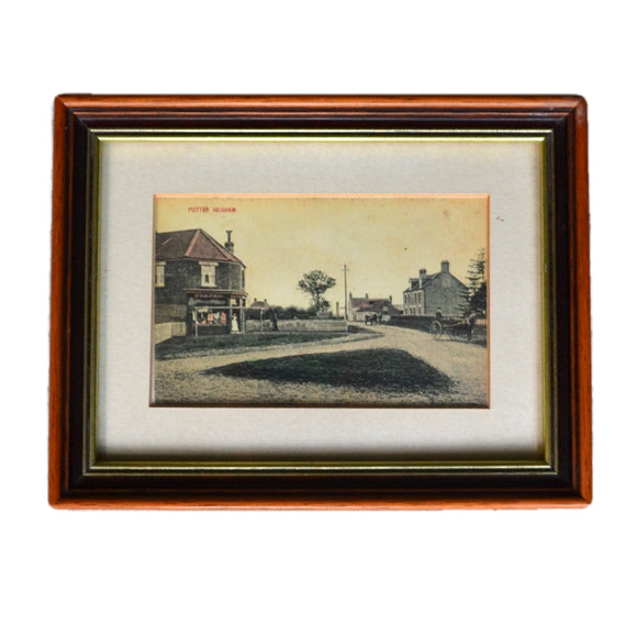 Framed Period Print of Potter Heigham Norfolk