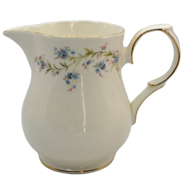Duchess tranquillity bone china tall large milk jug