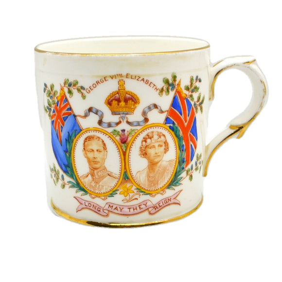 Tuscan China 1937 George VI Coronation Mug