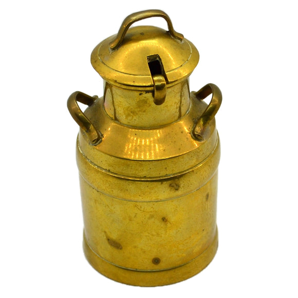 Vintage Brass Milk Churn Cruet