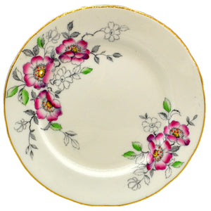 Old Royal Floral Bone China Cherry Blossom Side Plate