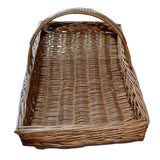 Large Wicker Basket English Garden Trug Or Flower Basket