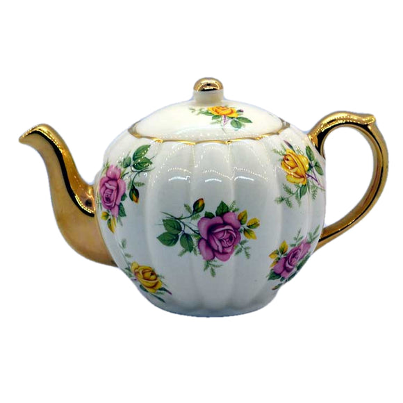 Gibsons Floral China Teapot W295