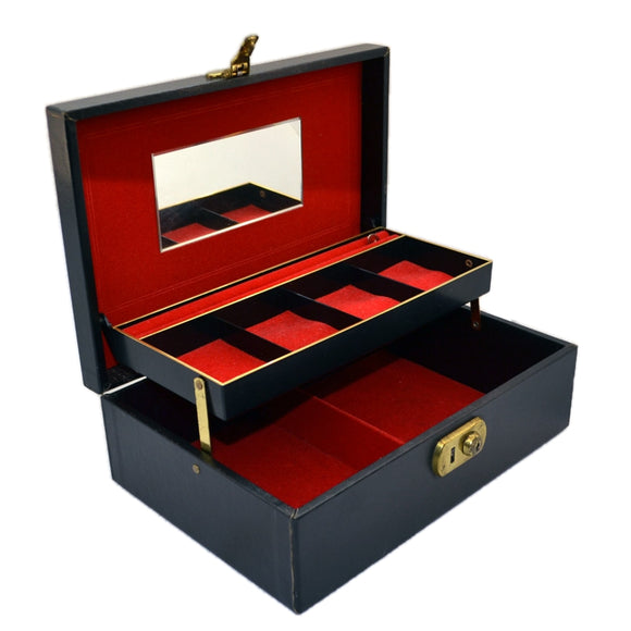 Vintage Jewellery box-Design Philipp 2 Tier Jewellery Box