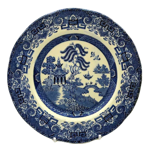 Wedgwood and Co blue willow vintage 7 inch side plate