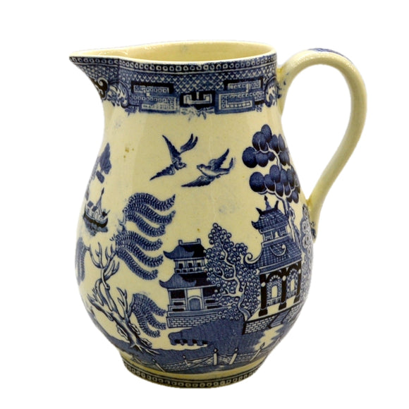 Wedgwood Blue and White Willow cream jug