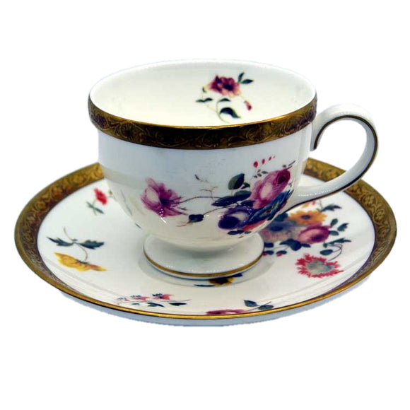 wedgwood floral gold china