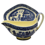 Wedgwood willow pattern gravy boat