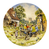 Wedgwood China Harvest Supper 10.25 inch Plate  No 1380B