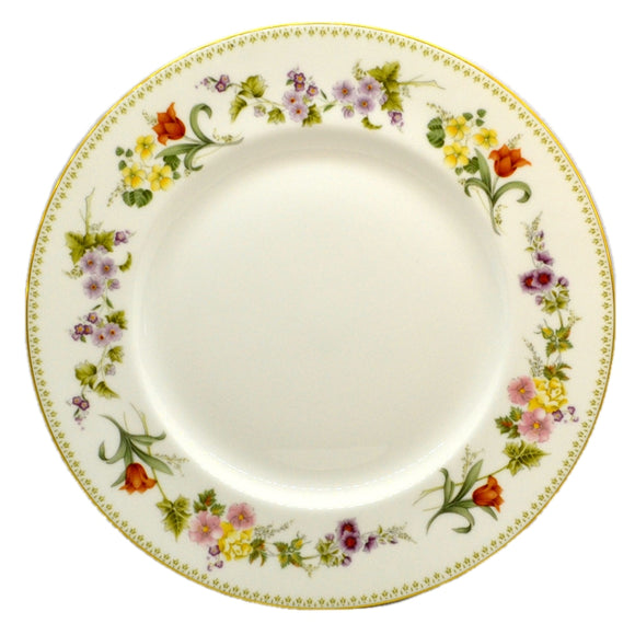 Wedgwood China Mirabelle R4537 10.75-inch Dinner Plate