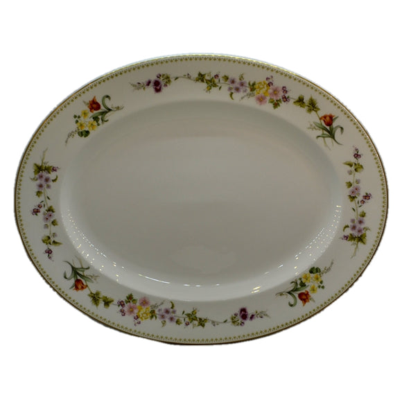 Wedgwood China Mirabelle R4537 17-inch Platter