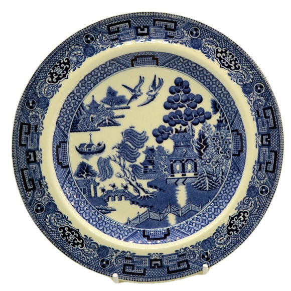 Wedgwood willow pattern vintage side plate