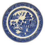 Wedgwood China Blue and White Willow 8-1/8th-inch dessert plate
