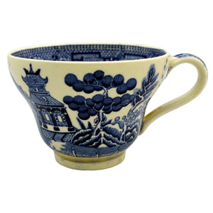 Wedgwood Blue and White Willow coffee cups