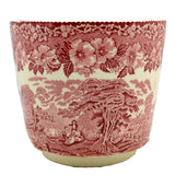 Enoch Wedgwood Woodland Red and White China Pot Holder