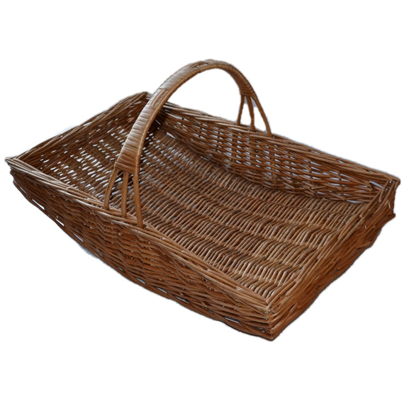 English Garden Wicker Trug Flower Basket