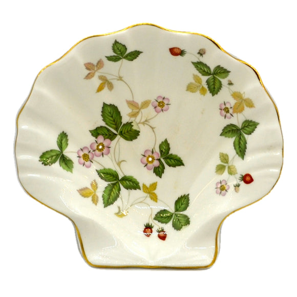 Wedgwood Wild Strawberry Scallop Soap Dish China