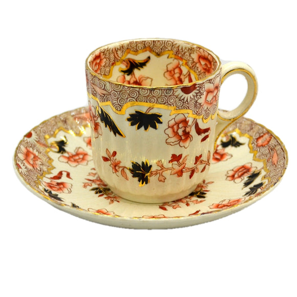 William Brownfield Floral China Tea Cup