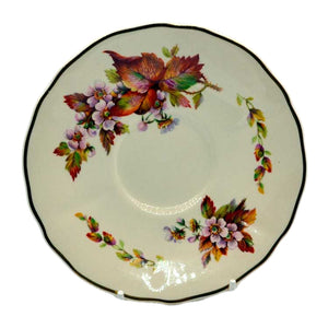 Wilton pattern Royal Doulton saucers