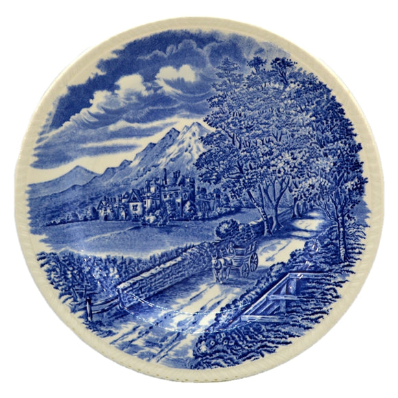 Wood & Sons Westmorland  Blue and White China Dinner Plate