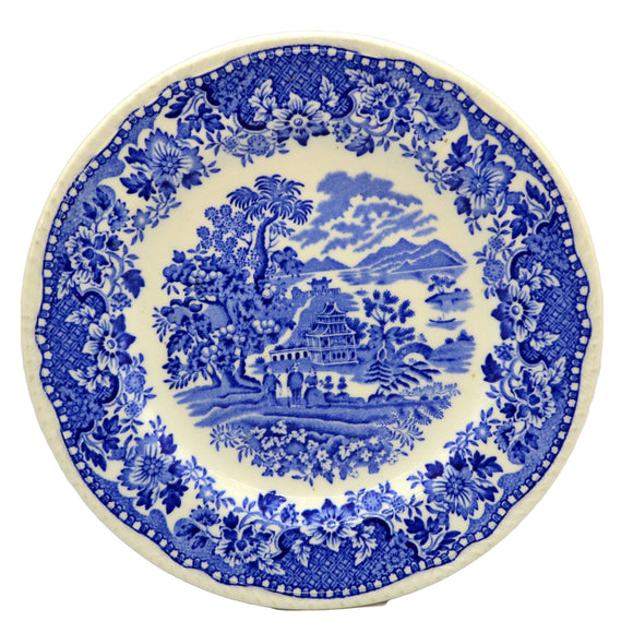 Wood & Sons Seaforth Blue and White China