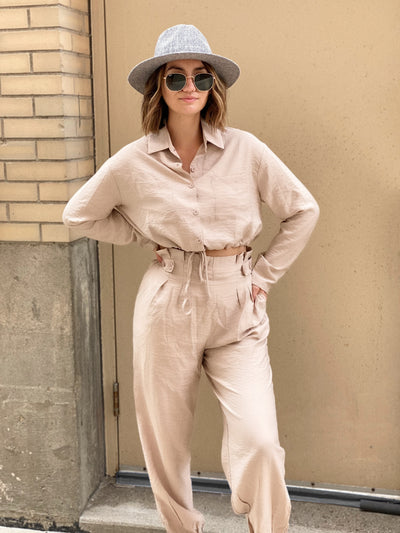Stick It Beige Cargo Set