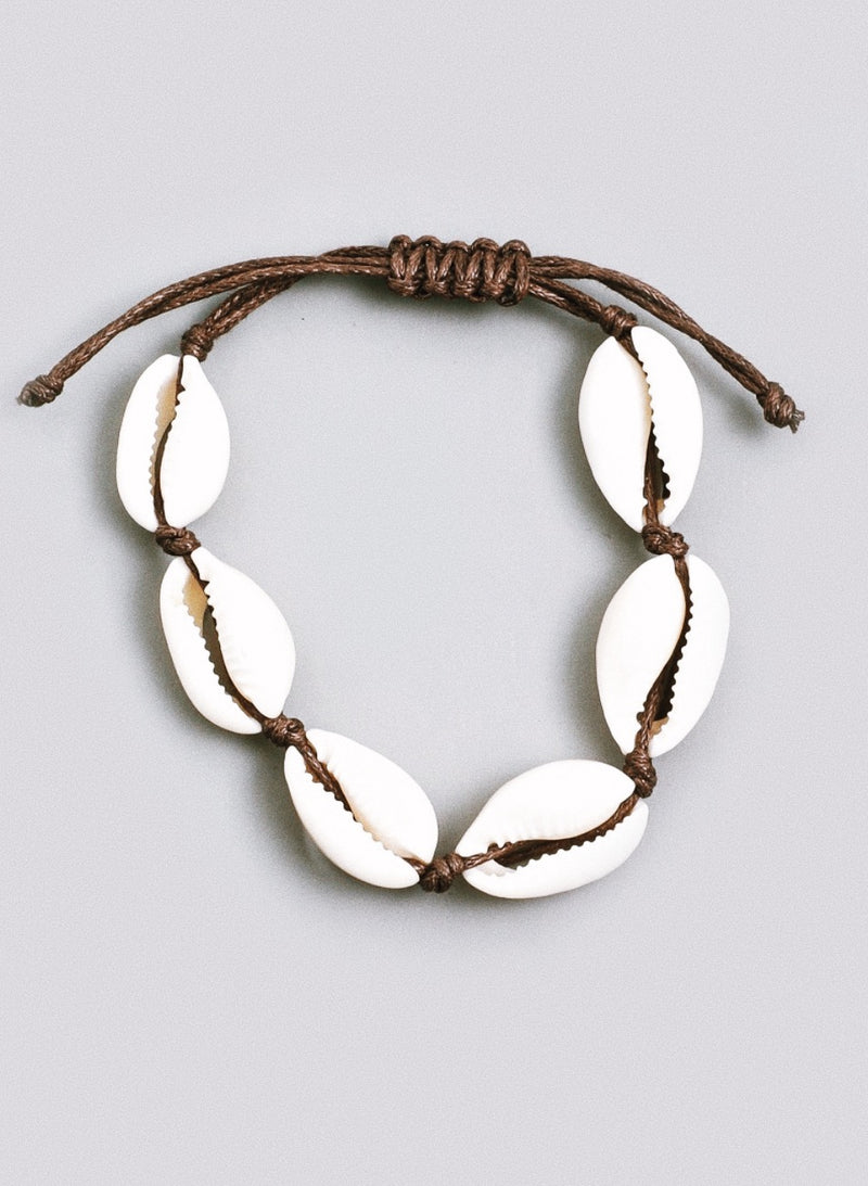 Sea Shell Adjustable Bracelet