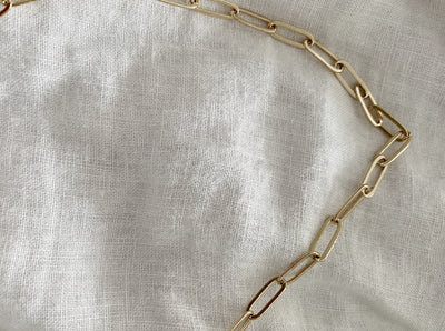 Oval Cable Chain Necklace