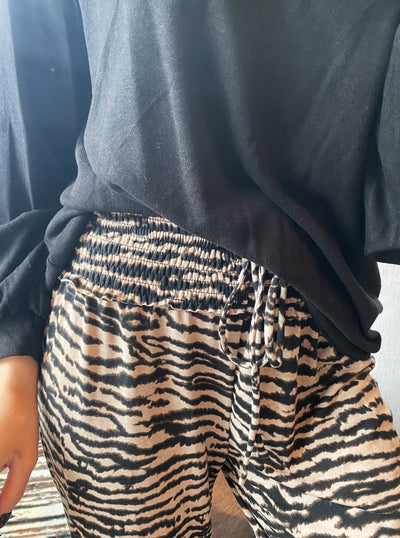 All About It Zebra Lounge Pant
