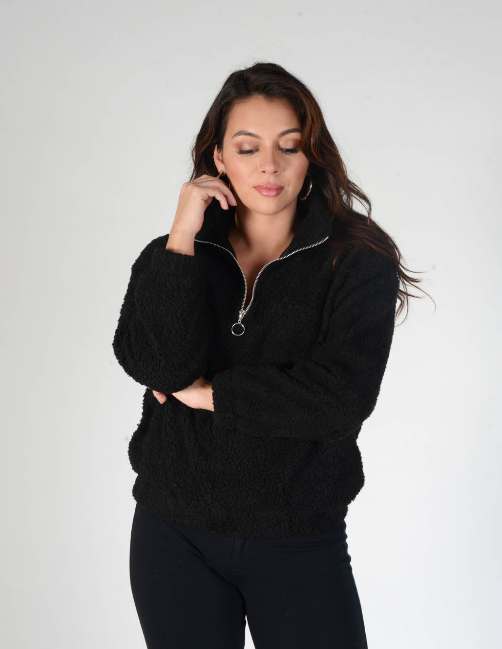Over And Out Teddy Pullover