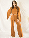 Pumpkin Spice Knit Set