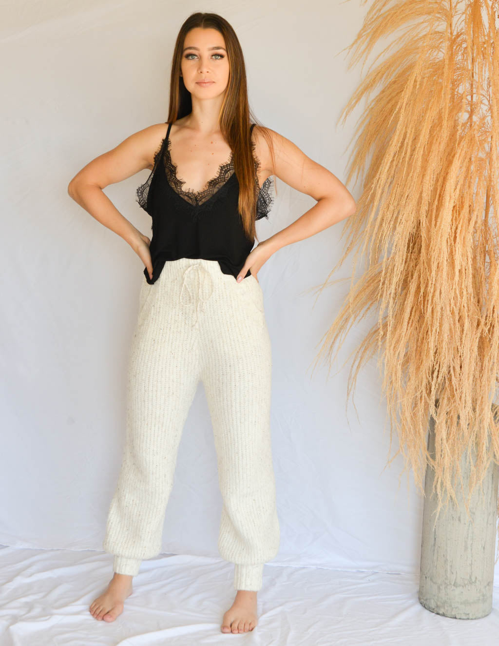 Sunday Morning Knit Pants