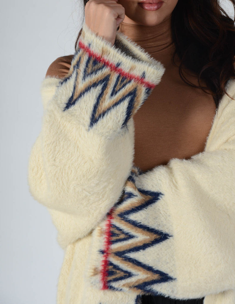 In The Tribe Mohair Cardi