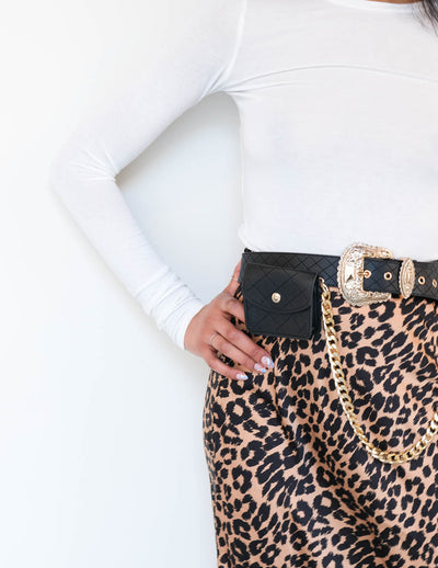 Rebellious Pochette Belt