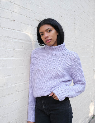 Periwinkle Knit Sweater