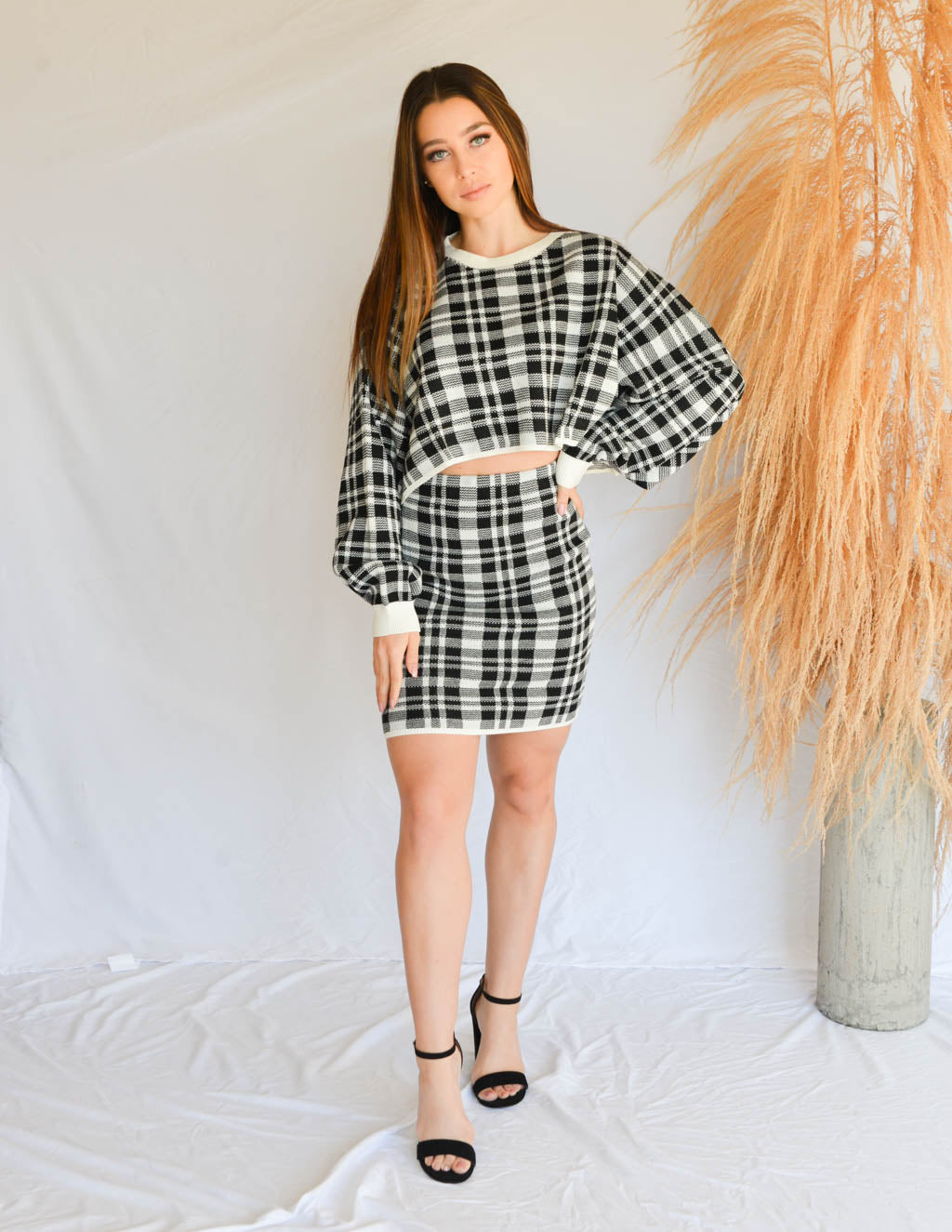 Modern Clueless Knit Skirt