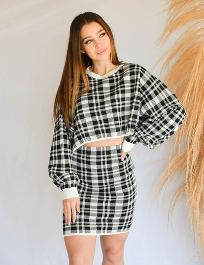 Modern Clueless Cropped Sweater
