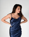 Midnight Diamond Slip Dress
