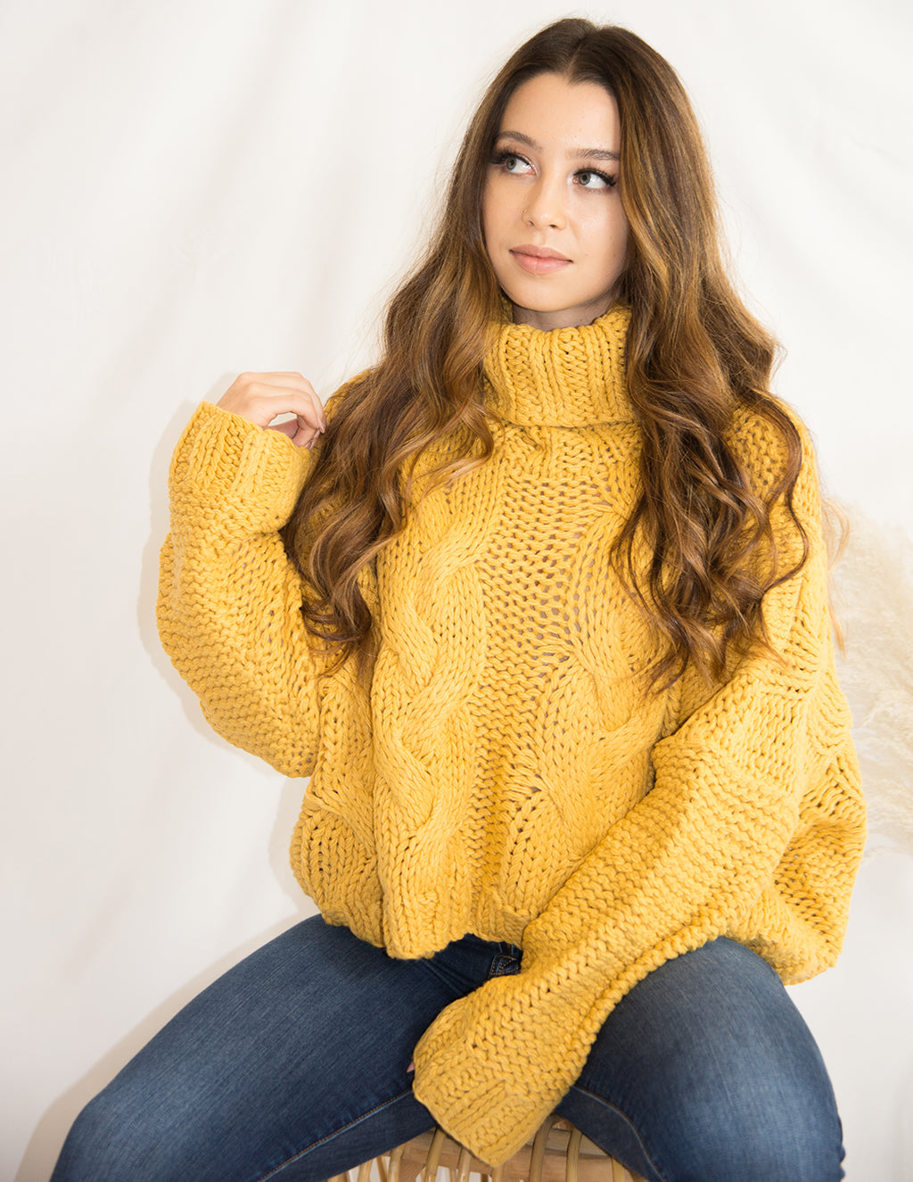 Golden Hour Sweater