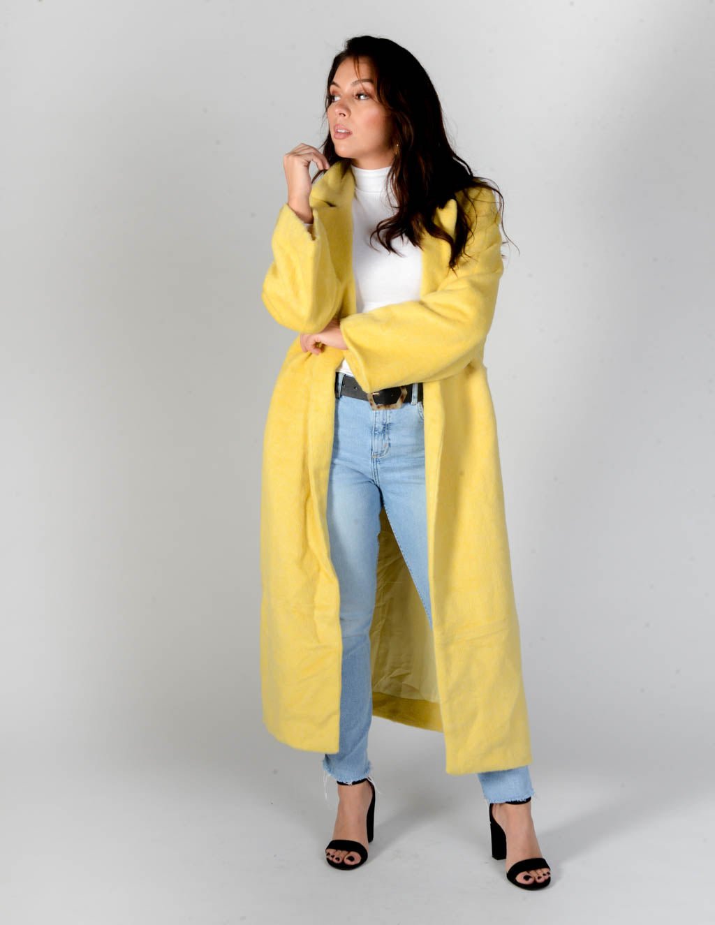 Sicilian Lemon Wool Coat