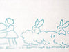 stamp (easter/girls, eggs,rabbits) ロング・スタンプ