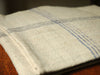 linen cloth リネンクロスA(homespun / blue 4lined)