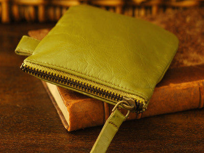 Polder / Trousse (olive mustard) size S