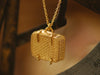 Alex Monroe / basket locket with cake and mouse necklace
